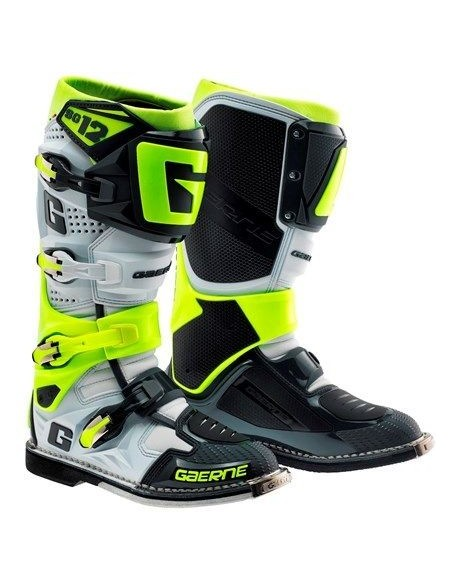 BOOTS GAERNE SG 12 WHITE YELLOW