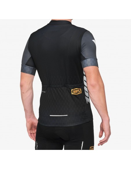EXCEEDA Jersey Black/Charcoal Lycra Kits