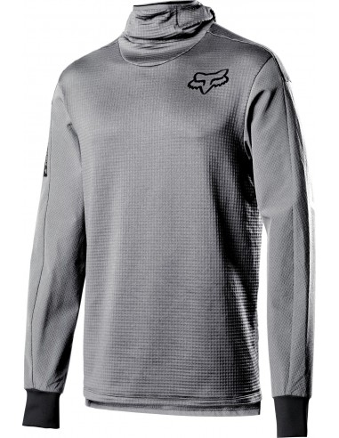 DEFEND THERMO HOODED JERSEY [STL GRY]